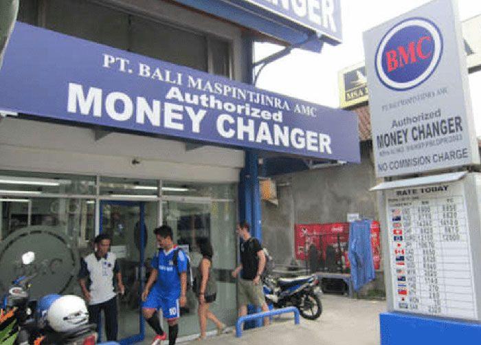 Bali money changers